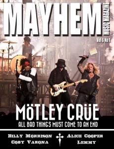 Mayhem Music Magazine Vol 6 No 1