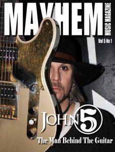 Mayhem Music Magazine Vol 5 No 1