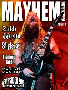 Mayhem Music Magazine Issue Vol 6 No 4 sm
