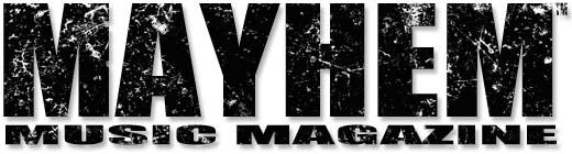 Mayhem Music Magazine logo